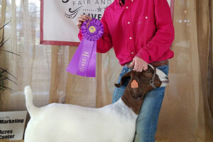 Goat show champions crowned