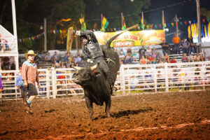 ANNUAL INTER-STATE FAIR AND RODEO RETURNS