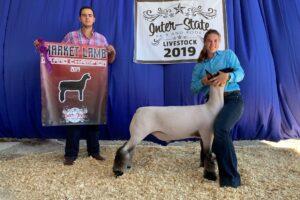 SHEEP SHOW HELD AT INTER-STATE FAIR