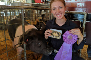 SWINE SHOW RESULTS AT THE INTER-STATE FAIR